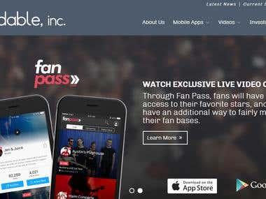 Friendable /Website , Android & iOS App