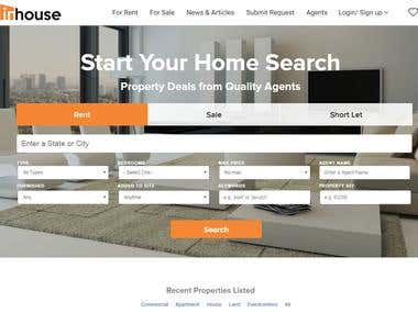 Inhouse - Real Estate Project/PHP