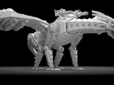 T-096 ( A mechanical beast)