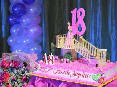 The Debutante's Cake