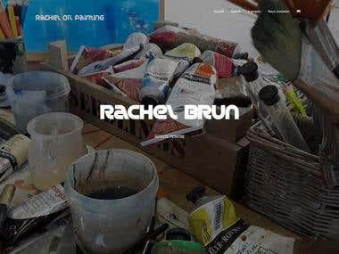 Rachel Oil Painting Web site