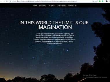 Web Html, CSS, WORDPRESS