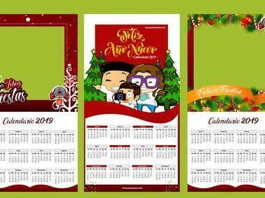Christmas or themed calendars