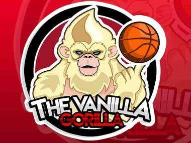 Logo the vanilla gorilla