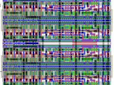 4 bit bidirectional shift register design with tanner EDA