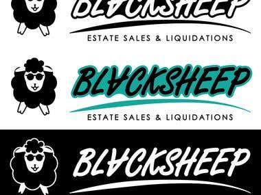 Logo for Blacksheep, state sales and liquidations