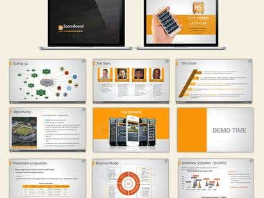 Powerpoint / Keynote Presentation Design