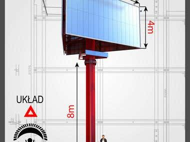 Construction projects of advertising - Advertising - Billboa