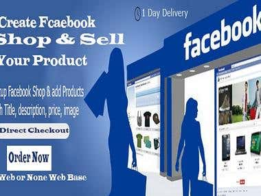 Setup Facebook Shop Store And Add Products For Shop And Sell
