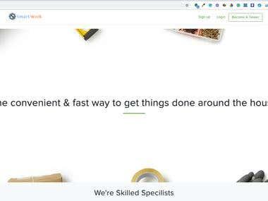 Smart Work - On demand based services-Uber for X/TaskRabbit