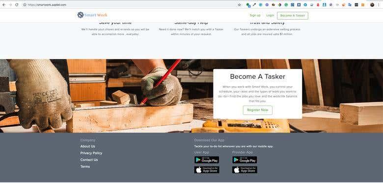 Smart Work - On demand based services-Uber for X/TaskRabbit | Freelancer