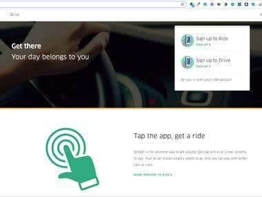 Borakh - Ride Hailing - Uber Clone