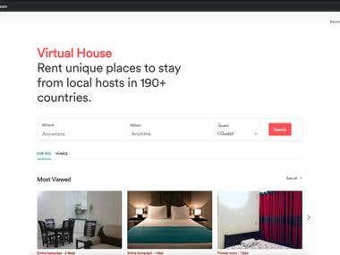 Virtual House - AirBnb clone
