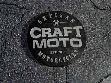 A garage logo