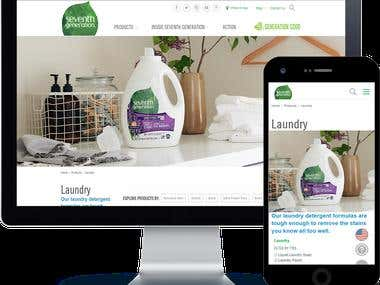 E- Commerce Market Place | Seventh generation.