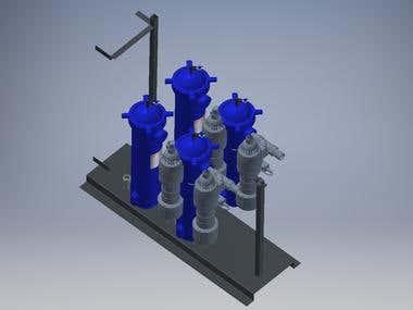 3D design in Autodesk Inventor