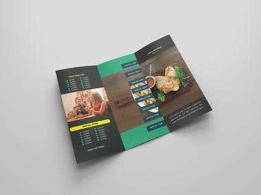 A Tri-Fold Brochure design