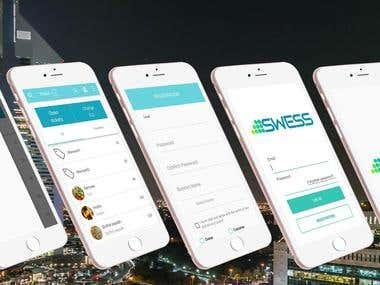 IOS app som ska hantera POS