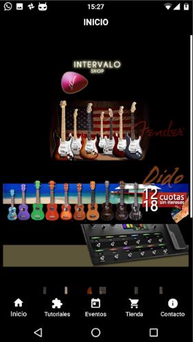 App para negocio comercial Intervalo Shop