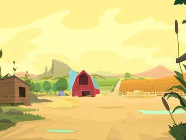 Iconicles_Farm Bakground