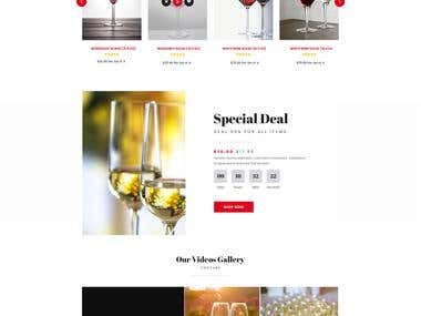 Wine Company Website