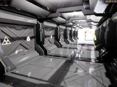 3D artist_Unreal_corridor