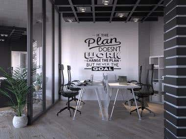 8 People Office Design
