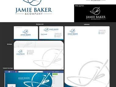 Complete Corporate Identity for Jamie Baker & Company