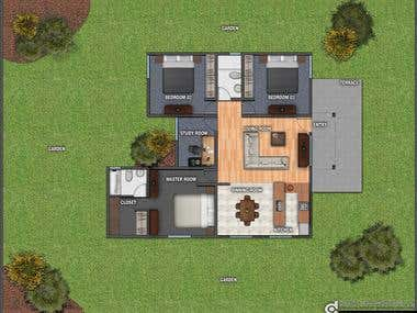 Desing For House Plan