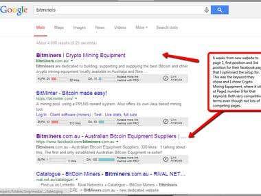Search Engine Optimisation & Marketing