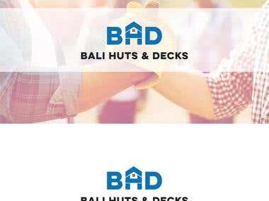 Logo Design- Bali Huts & Decks