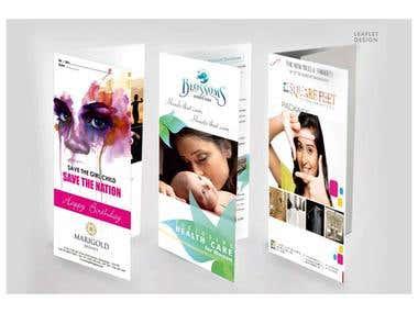Leaflet Designing