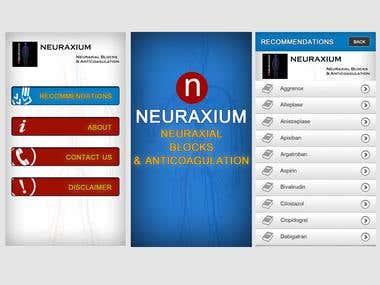 NeuRaxium  App Designing