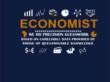 Economist T shirt Design