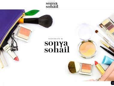 Sonya Sohail eCommerce