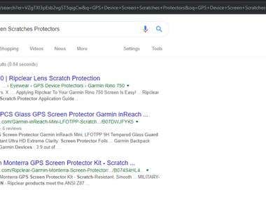 E-com SEO | Keyword #1 on Google, Even Beating Amazon's SEO