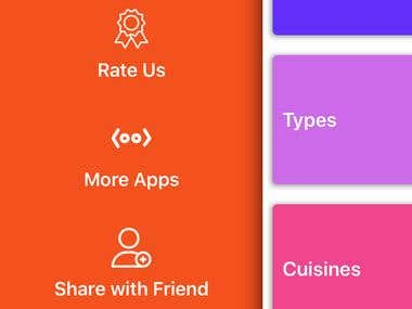 Recipe book app creation