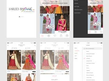 SareesBazar App creation