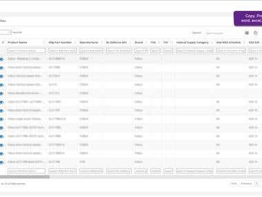 Product Database
