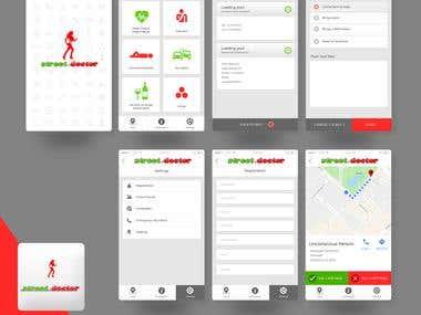 Street Doctor app creation