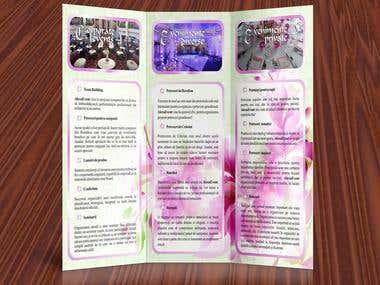 Brochure - special event management