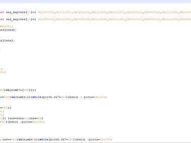 microcontroller programing