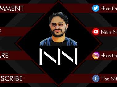 Video Template Design for You Tube Channel