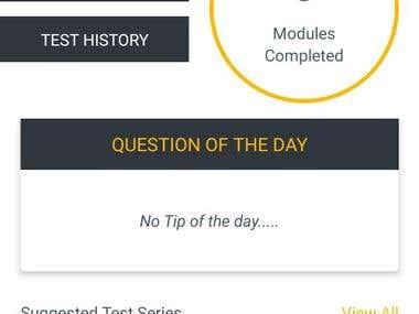 Online Education Portal Mobile App