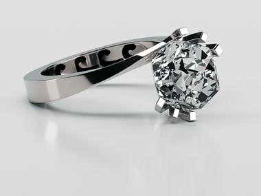 Jewelry render / design