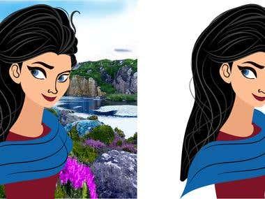 Cartoon design/ character design