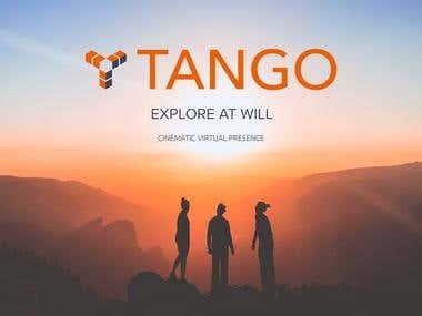Tango Rebranding & VR Page design