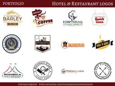 Hotel & Restaurant Logos