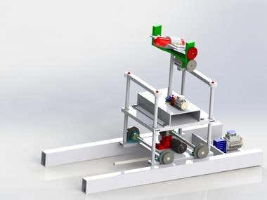 WATER COOLING ROBOT