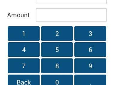 Financial transactions on Android